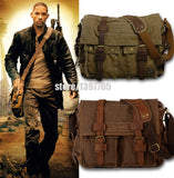New Design Fashion Canvas Women Bags High Quality Casual Black Men Messenger - Hespirides Gifts - 7