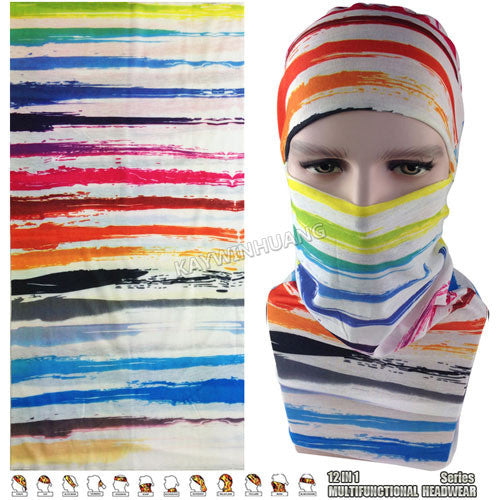 Latest Fashion Various Women Outdoor Multifunctional Headband Balaclava Seamless - Hespirides Gifts - 2