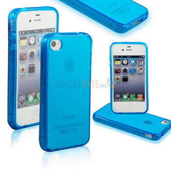Ultra thin Colorful Transparent CLEAR JELLY TPU Gel Soft Silicone Case Cover Protector For iPhone 4 4S 5 5S 5G SE 6 6s 6 Plus - The Fire Pits Store  - 2