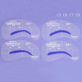 Eyebrow Shaper Stencil 4 styles/set Grooming Shaping DIY Beauty Eyebrow Template Make Up Tool