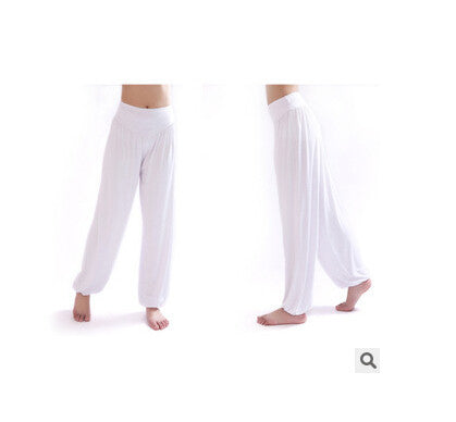 Ladies Yoga Belly Elastic Waist Loose Pants - Hespirides Gifts - 9