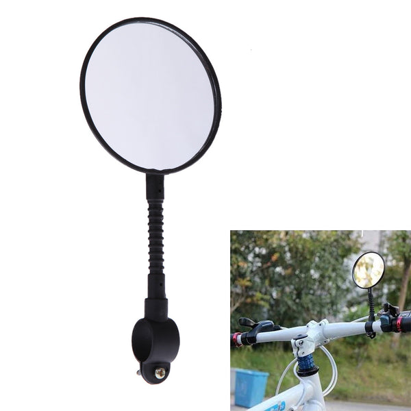 Shatterproof & High-strength ABS Mountain Road MTB Bike Bicycle Rear View Mirror Reflective Cycling Safety Flat Mirror - The Fire Pits Store  - 1