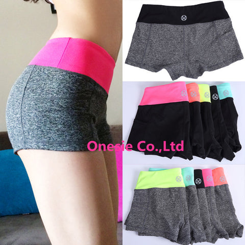 Women Sports Fitness Yoga Shorts For Workout Run Slimming Beach Hiking Female - Hespirides Gifts - 1