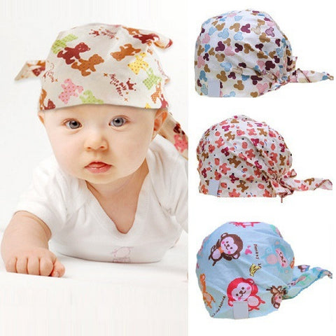 Cotton baby beanie pirate cap hat for 0-2 years old kids,baby girl boy accessories newborn photography props,casquette enfant - Hespirides Gifts - 1