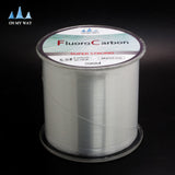 New Available 500M Fluorocarbon Fishing Line 0.148-0.467mm 5-32LB Carbon Fiber Leader Line brand fly fishing line pesca - Hespirides Gifts - 2