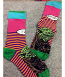 hot! new Fashion 3D Animal Print Socks Casual Cute Character Candy Colors Sock - Hespirides Gifts - 14