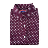 Hot Sale Women Polka Dot Shirt - Hespirides Gifts - 12