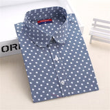 Hot Sale Women Polka Dot Shirt - Hespirides Gifts - 7