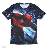 european style creative t shirt fashion sightseeing printing t-shirt short sleeve o neck - Hespirides Gifts - 6