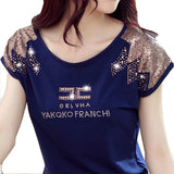 round neck t-shirt camisetas Y tops mujer kawaii tee femme summer style - Hespirides Gifts - 2