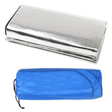 Foldable Folding Sleeping Mattress Mat Pad Waterproof Aluminum Foil EVA Outdoor Camping Mat inflatable mattress H1E1
