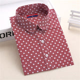 Hot Sale Women Polka Dot Shirt - Hespirides Gifts - 10