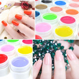 Professional Manicure UV Lamp Nail Gel Art Polish 36 Pure Colors - Hespirides Gifts - 11