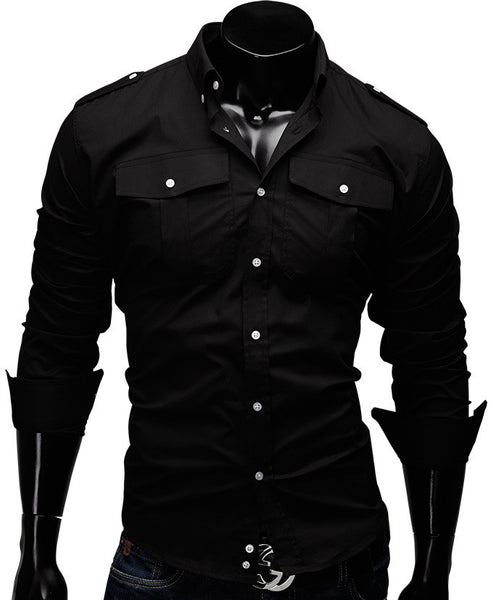 Solid Men Shirt - Hespirides Gifts - 2