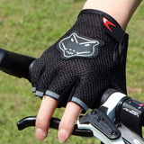 Outdoor Sports Bicycle Gloves Soft Half Finger Antiskid Glove Racing Cycling Hiking Mitten - Hespirides Gifts - 2