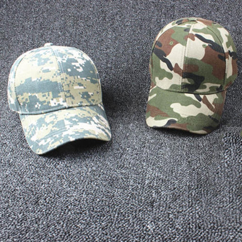 New Adjustable Military Hunting Fishing Hat Army Baseball Outdoor Cap Popular - Hespirides Gifts - 1
