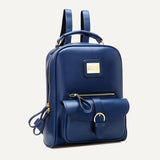 women's Classic leather backpack female school bags for teenagers ochilabag ladies fashion ladies shoulders retro backpacks - Hespirides Gifts - 11