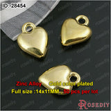 Small Hearts Charms Pendants Diy Jewelry Findings Accessories More styles can picked - Hespirides Gifts - 16