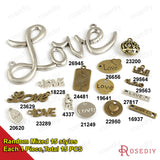 Round Oval Love Charms Pendants Diy Jewelry Findings Accessories More styles can picked - Hespirides Gifts - 17