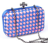 Factory new listing women candy color Wove evening bag and clutches shoulder - Hespirides Gifts - 8