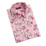 Women Long Sleeve Floral Dots Shirt - Hespirides Gifts - 10