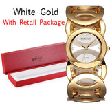 WEIQIN Brand Luxury Crystal Gold Watches Women Fashion Bracelet Quartz Watch - Hespirides Gifts - 3
