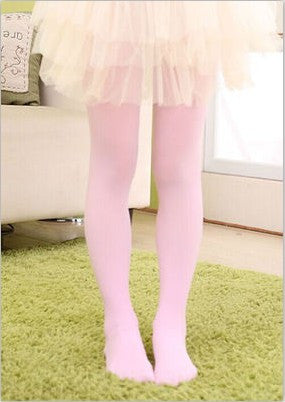 Children Warm Candy color Stretch Velvet Girl Kids Soft Pantyhose Opaque Dance Leggings Stocking Pants 3-15 Years - Hespirides Gifts - 11
