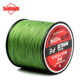 SeaKnight Brand Tri-Poseidon Series Brand Super Strong Japan 300m Multifilament PE Braided Fishing Line 8 10 20 30 40 50 60LB - The Fire Pits Store  - 4