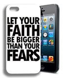 Faith Christian Hard Plastic Phone Case Cover For iPHONE 4 4S 5 5S 5C 6 6PLUS - Hespirides Gifts - 1