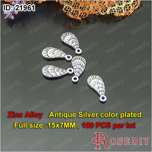 Small Feather Charms Pendants Diy Jewelry Findings Accessories More styles can picked