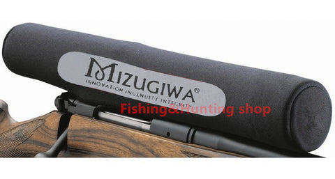 Mizugiwa Rifle Scope Covers Gun Rifle Hunting Accessories Riflescope Neoprene Protect Scope Cover Black Color - Hespirides Gifts - 1