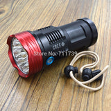 NEW AloneFire HF9-1 Rechargeable SKYRAY 15000LM LED 18650 Flashlight Torch Hunting