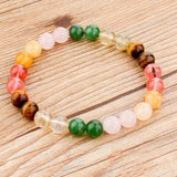 Tiger Eye Love Buddha Bracelets Jewelry Trendy Natural Stone Bracelet For Women - Hespirides Gifts - 41