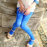 Children Warm Candy color Stretch Velvet Girl Kids Soft Pantyhose Opaque Dance Leggings Stocking Pants 3-15 Years - Hespirides Gifts - 5