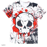 european style creative t shirt fashion sightseeing printing t-shirt short sleeve o neck - Hespirides Gifts - 13