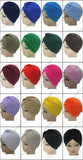 Women India Yoga Hedging Fold Scarf Hat Muslim Hat Hijab Islamic Turban Yoga Cap - Hespirides Gifts - 3