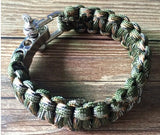 Paracord Survival Bracelet Men Camping Outdoor Woven Parachute Shackle Pin Buckle - Hespirides Gifts - 11