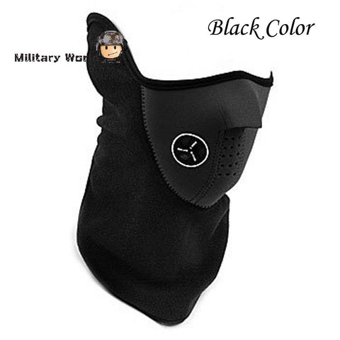 Outdoor Sports Neck Warmers Fleece Balaclavas Skiing Cycling Windproof Protective Half Face Mask Neoprene Hunting Mask 3 Color - Hespirides Gifts - 1