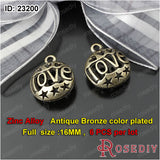 Round Oval Love Charms Pendants Diy Jewelry Findings Accessories More styles can picked - Hespirides Gifts - 14