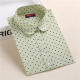 Hot Sale Women Polka Dot Shirt - Hespirides Gifts - 14