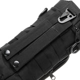 NEW Militray Tactical Molle Zipper Outdoor bag Hiking bags Climbing Bags - BLACK Color