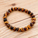 Tiger Eye Love Buddha Bracelets Jewelry Trendy Natural Stone Bracelet For Women - Hespirides Gifts - 45