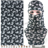 Latest Fashion Various Women Outdoor Multifunctional Headband Balaclava Seamless - Hespirides Gifts - 21