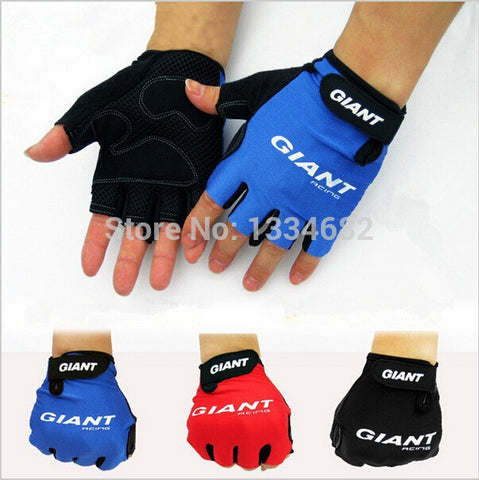 2016 Brand New GEL Half Finger Men Cycling Gloves Slip for mtb bike/bicycle guantes ciclismo racing luvas sport bicicleta - The Fire Pits Store  - 1
