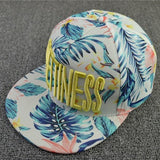 Hats Letter Embroidery Flowers Sweet Hats For Women Hip Hats Fashion Baseball Cap - Hespirides Gifts - 3