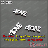 Round Oval Love Charms Pendants Diy Jewelry Findings Accessories More styles can picked - Hespirides Gifts - 8