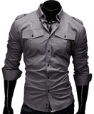 Solid Men Shirt - Hespirides Gifts - 1