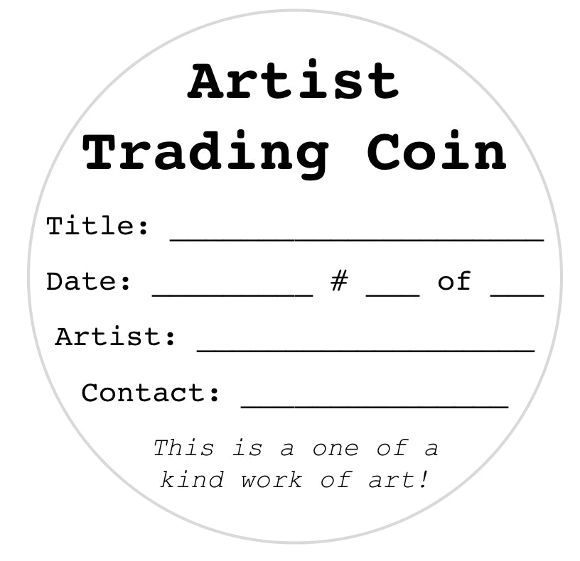 New Digital Download for Artist Trading Coins!
