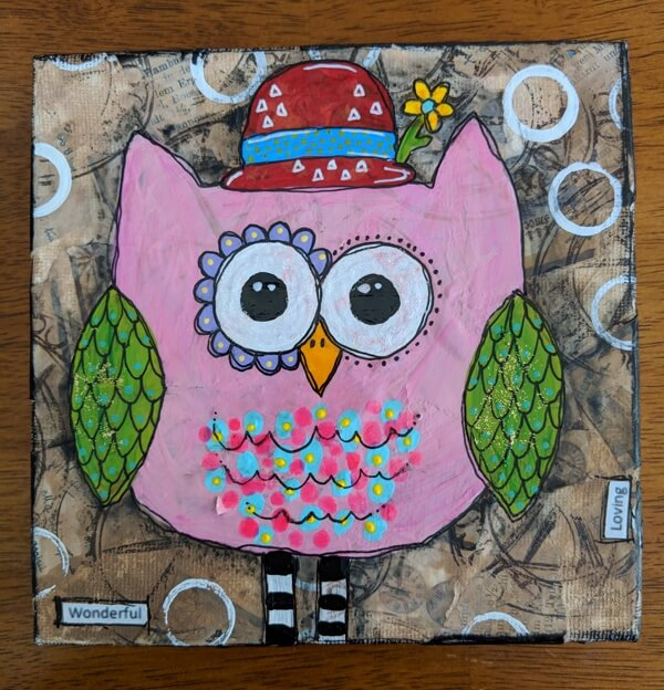 SOLD! Off To a New Home Flies This Little Red Hat Lady!