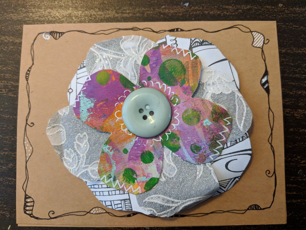 Turning Old Papers from your Stash into Fabulous Paper Flowers